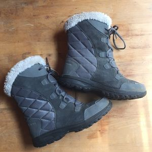 Ladies Columbia Waterproof Winter Boot 8